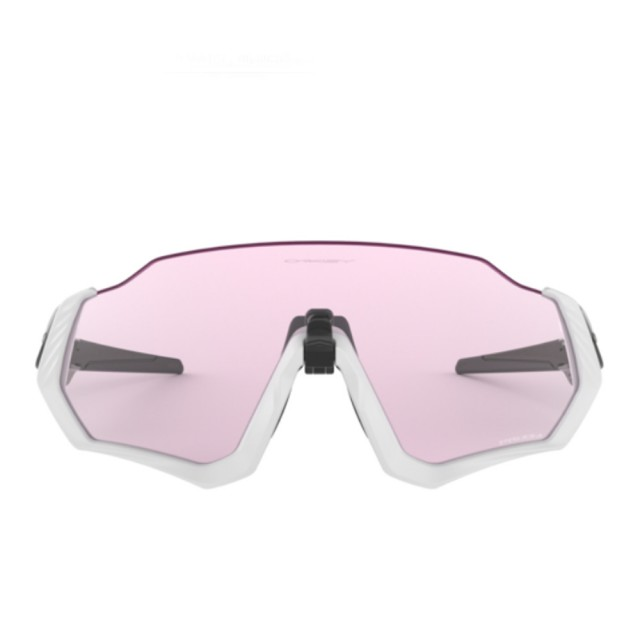 【Oakley】FLIGHT JACKET☆ PRIZM 粉色鏡片運動太陽眼鏡(9401-0337)