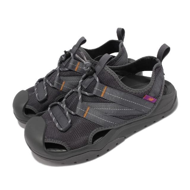 【NEW BALANCE】涼鞋 4205 韓版 包頭 休閒 反光 男女鞋 紐巴倫 彈性繩鞋扣 耐磨大底 情侶鞋 灰(SD4205GRM)