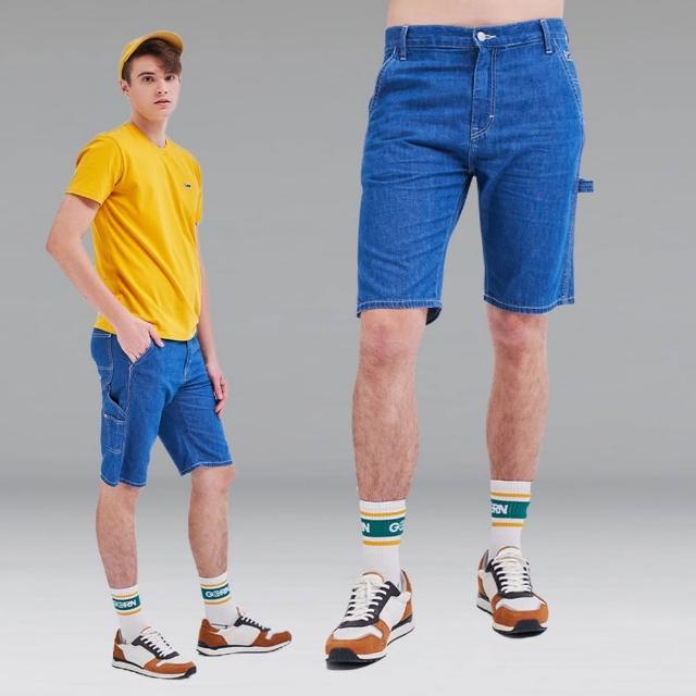 【Lee】902 薄款輕磅 男牛仔短褲