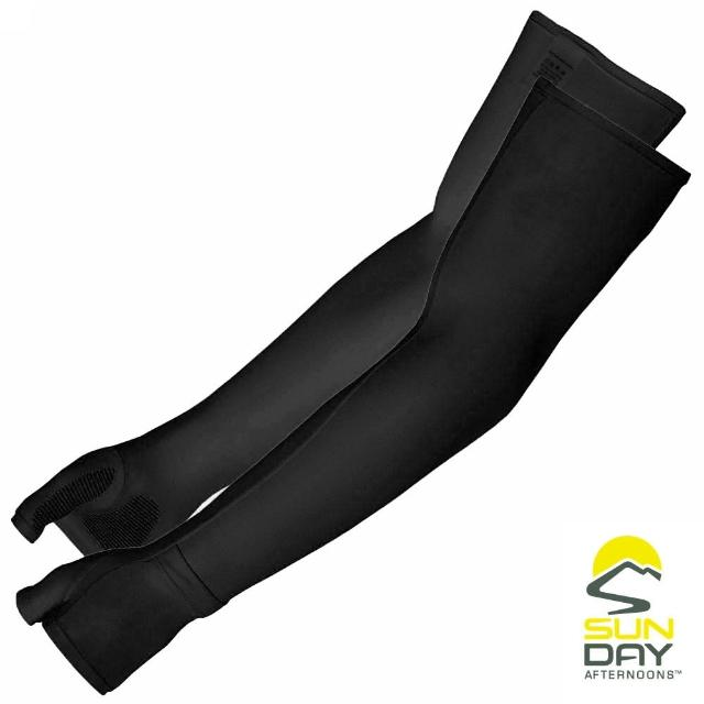 【BUFF】抗UV透氣涼感袖套 黑 UVShield Cool Sleeves(SAS2A64650B-305/防曬/遮陽)