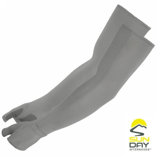 【BUFF】抗UV透氣涼感袖套 礦石灰 UVShield Cool Sleeves(SAS2A64650B-331/防曬/遮陽)