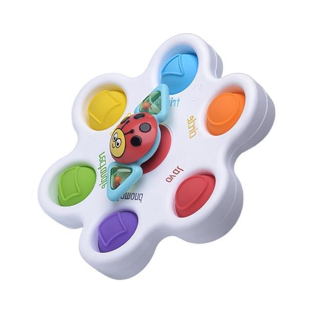 【JoyNa】早教玩具KOTY嬰兒啟蒙學習板 手指按壓認知練習板