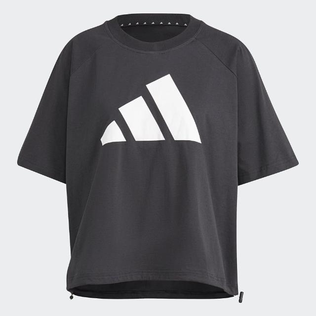 【adidas 愛迪達】adidas 休閒短袖上衣 GL9477