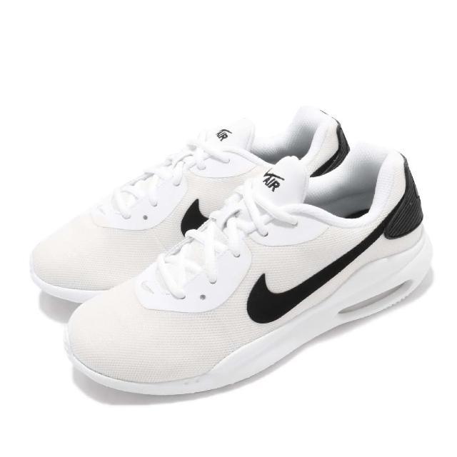 【NIKE 耐吉】慢跑鞋 Air Max Oketo 運動 男鞋 氣墊 避震 透氣 輕量 舒適 穿搭 白 黑(AQ2235-100)