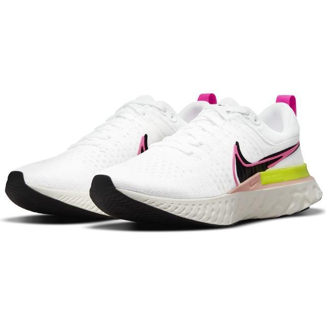 【NIKE 耐吉】慢跑鞋 男鞋 運動鞋 緩震 REACT INFINITY RUN FK 2 白 DJ5395-100