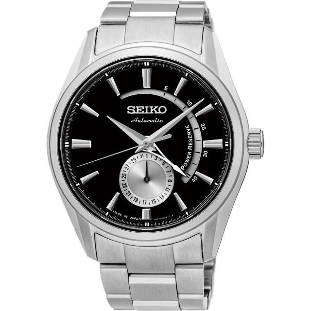 【SEIKO 精工】PRESAGE 動力儲存時尚機械錶-35mm(4R57-00A0D/SSA305J1)