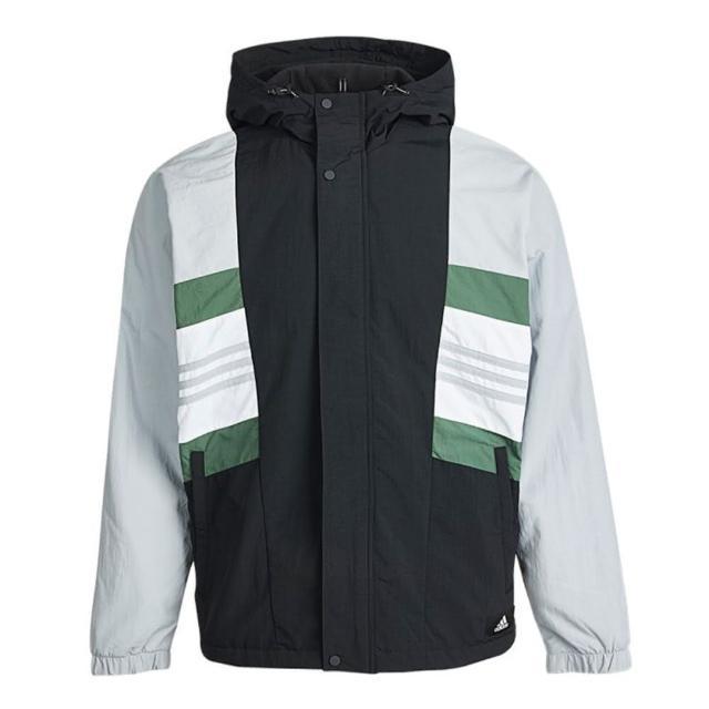 【adidas 愛迪達】ADIDAS UB JKT CB 男運動連帽外套 GU1739