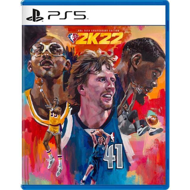 【SONY 索尼】預購2021/09/10上市★ PS5 NBA 2K22 75週年紀念版《中文版》