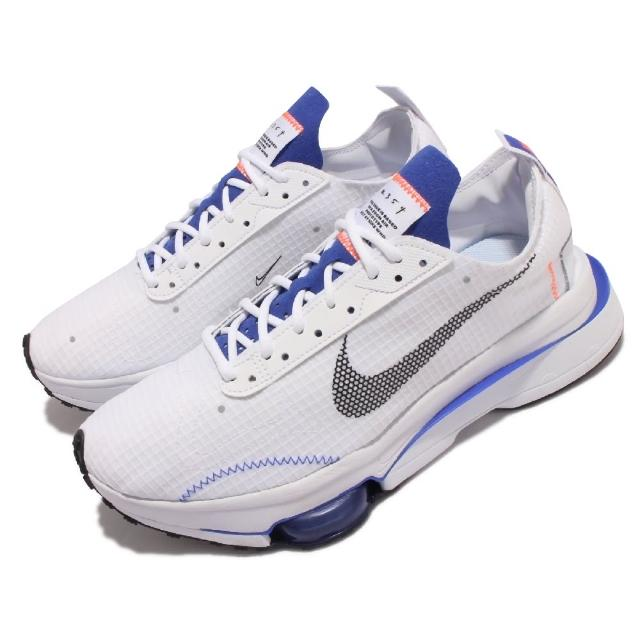 【NIKE 耐吉】休閒鞋 Zoom-Type SE 運動 男鞋 解構美學 氣墊 避震 N.354 穿搭 白 藍(CV2220-101)