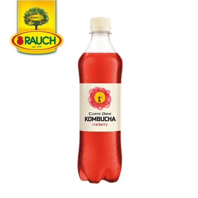 【Rauch】奧地利蔓越莓康普茶氣泡飲(500ml)