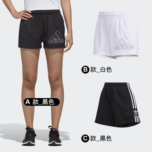 【adidas 愛迪達】運動短褲 女款 多款任選(GJ9028 GJ9027 FM2595)