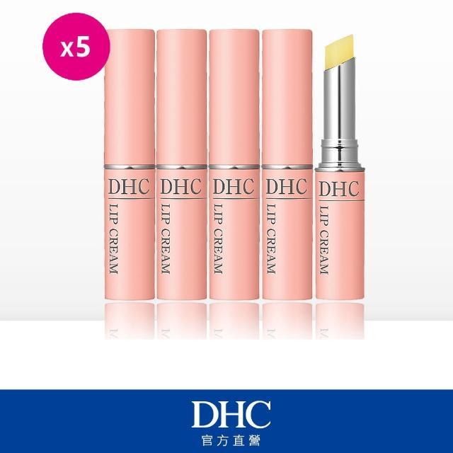 【DHC】純欖護唇膏超值五件組(1.5g*5)滋養潤澤