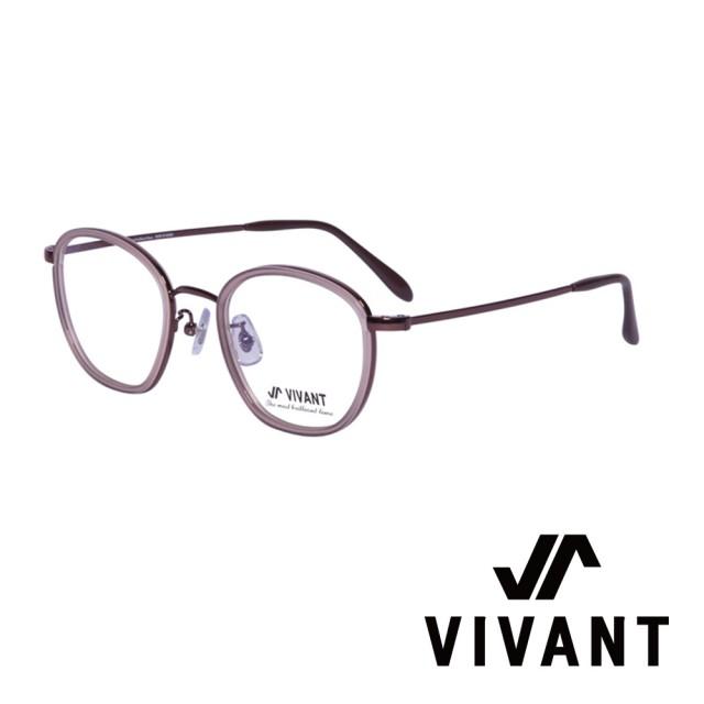【VIVANT】韓國 個性圓框 文青光學眼鏡(.咖啡 neige C3)