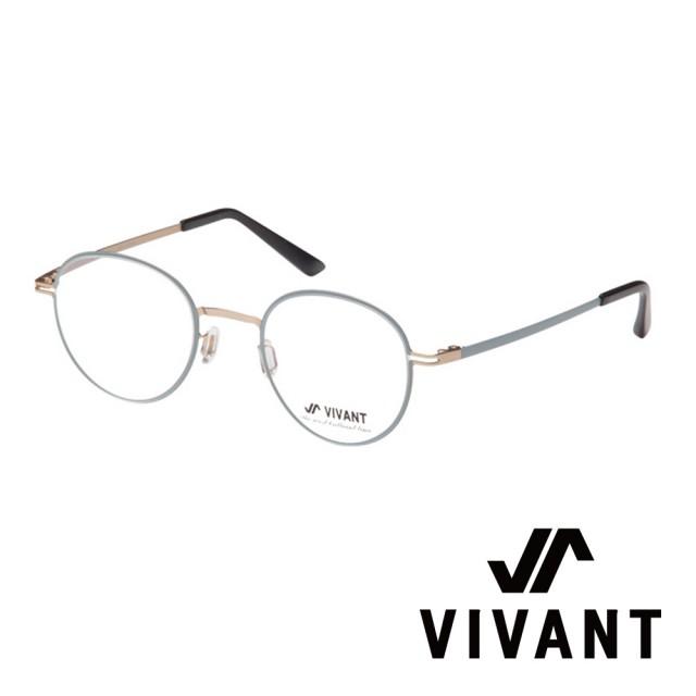 【VIVANT】韓國 正圓框 文青系列 光學眼鏡(.金 primier-II C6)