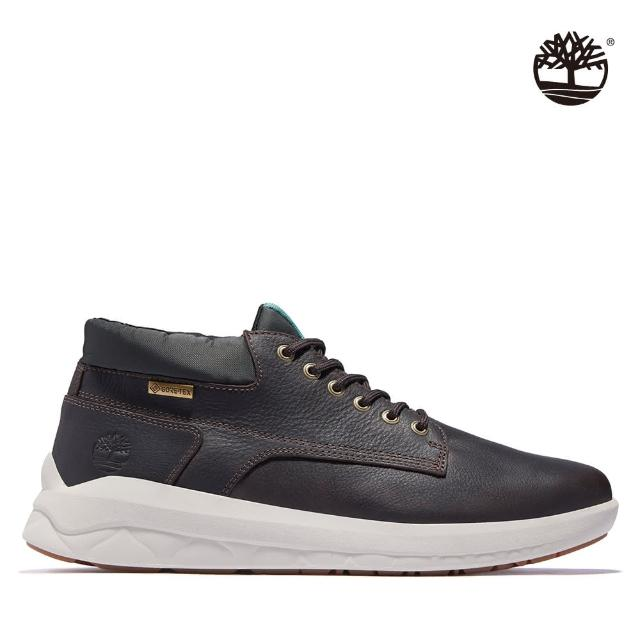 【Timberland】男款深棕色Bradstreet全粒面皮革防水靴(A281TV13)