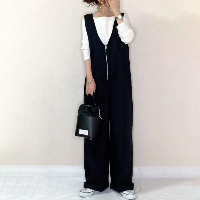 【Pure 衣櫃】日系簡約顯瘦拉長比例拉鍊連體褲(簡約/舒適/百搭/KDP-6059)