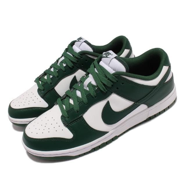 【NIKE 耐吉】休閒鞋 Dunk Low Retro 運動 男鞋 經典款 Team Green 休閒穿搭 綠 白(DD1391-101)