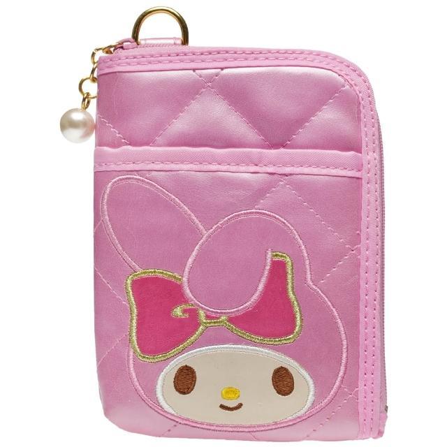 【TDL】福利品美樂蒂零錢包化妝包收納包手機袋相機包 761306