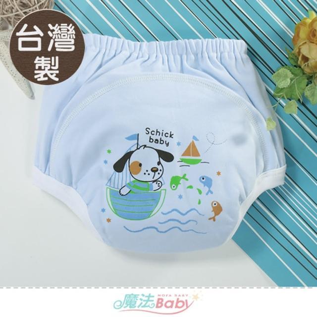 【魔法Baby】寶寶尿褲 台灣製嬰幼兒學習褲 強吸防漏尿褲(b0387)