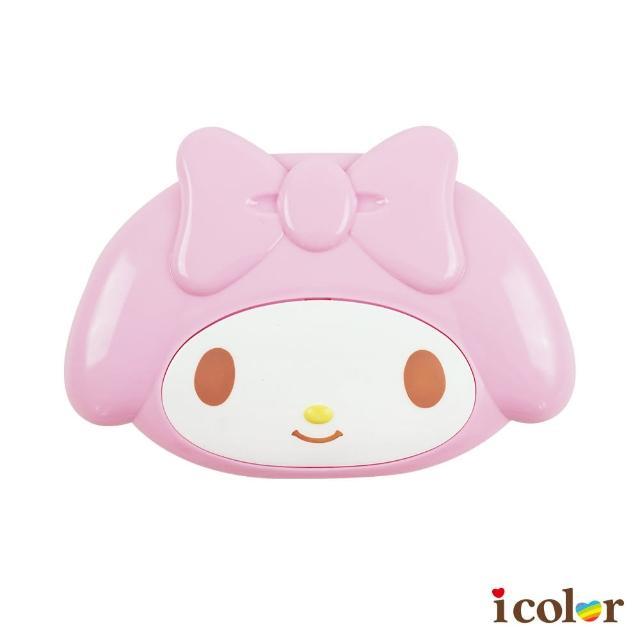 【i color】三麗鷗 美樂蒂大臉造型附蓋肥皂盒/香皂盒