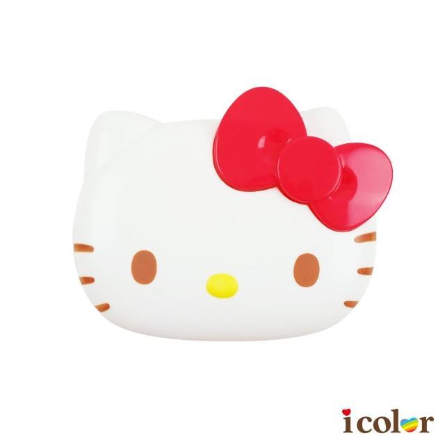 【i color】三麗鷗 Kitty大臉造型附蓋肥皂盒/香皂盒