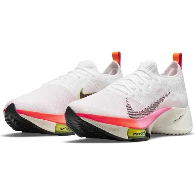 【NIKE 耐吉】慢跑鞋 女鞋 運動鞋 氣墊 緩震 W AIR ZOOM TEMPO NEXT% FK 白 DJ5431-100