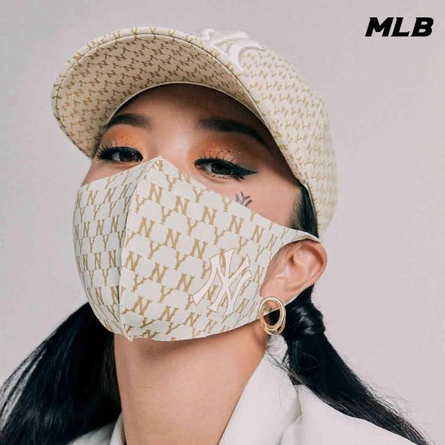 【MLB】口罩 Monogram老花系列 紐約洋基隊(32ETM3111-50B)