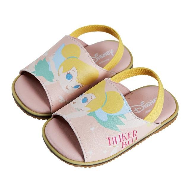 【Disney 迪士尼】迪士尼童鞋 奇妙仙子 不對稱造型寶寶涼鞋-粉(MIT台灣在地工廠製造)