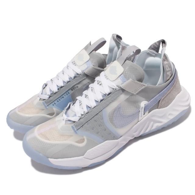 【NIKE 耐吉】休閒鞋 Jordan Delta Breathe男鞋 React避震 內襯無縫設計 舒適穿搭 灰 白(DN4236-041)