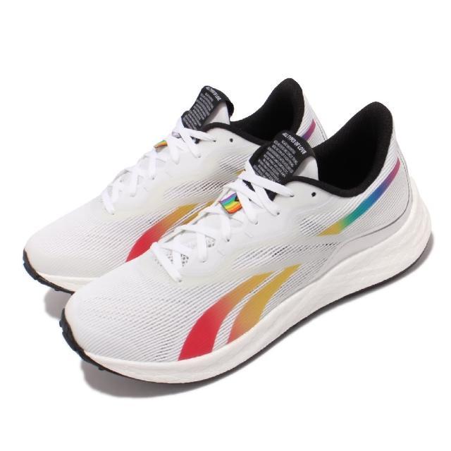 【REEBOK】慢跑鞋 Floatride Energy 3.0男鞋 Pride系列 輕量透氣 舒適避震 路跑 白 彩(GY5022)