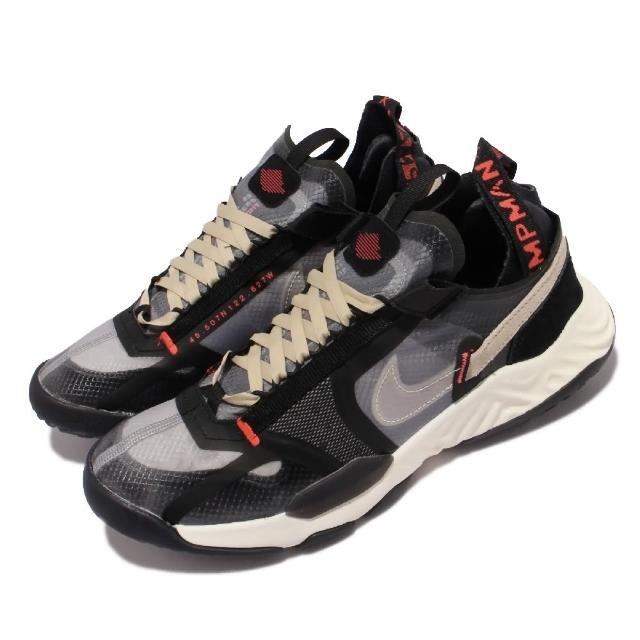 【NIKE 耐吉】休閒鞋 Jordan Delta Breathe男鞋 React避震 內襯無縫設計 舒適穿搭 黑 米白(DN4237-021)