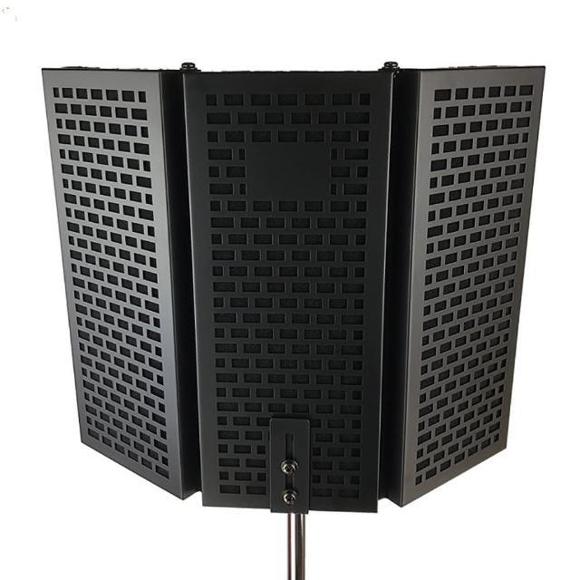 【JYC】職業級DR-30T麥克風隔音門-高密度EVA隔音海綿/多層降噪/三門外銷款/加贈防風罩(DR-30T麥克風隔音門)