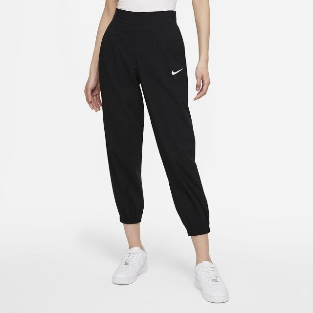 【NIKE 耐吉】長褲 女款 運動 慢跑 訓練 AS W NSW ICN CLSH WVN HR JGGR 黑 DD5049-10