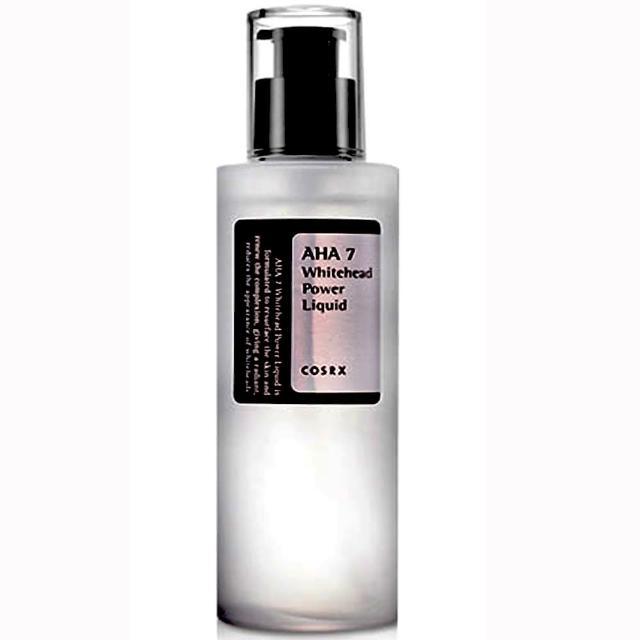 【COSRX】AHA7嫩白滋潤控油精華超能水 100ml(AHA7天然果酸白頭超能水 100ml)