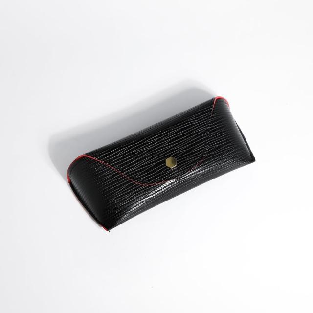 【ZANZAN 冉冉】攜帶型防壓眼鏡盒-黑(眼鏡盒)
