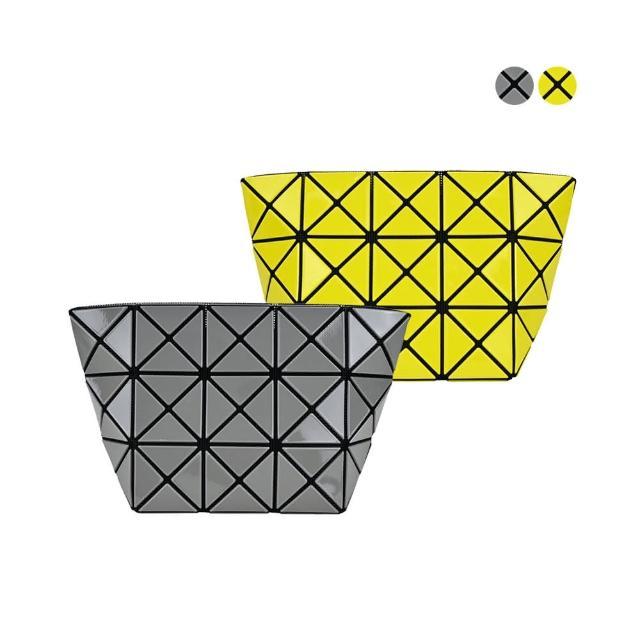【ISSEY MIYAKE 三宅一生】BAOBAO3x5亮面幾何化妝包(任選)
