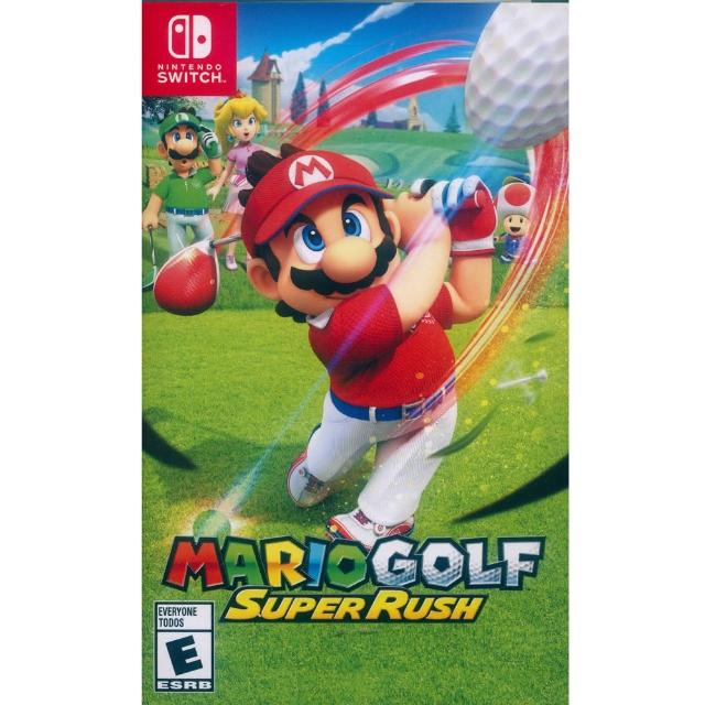 【Nintendo 任天堂】NS Switch 瑪利歐高爾夫 超級衝衝衝 中英日文美版(Mario Golf Super Rush)