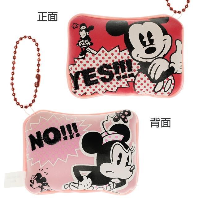 【TDL】迪士尼米奇米妮娃娃小枕頭造型鑰匙圈包包掛飾 874717