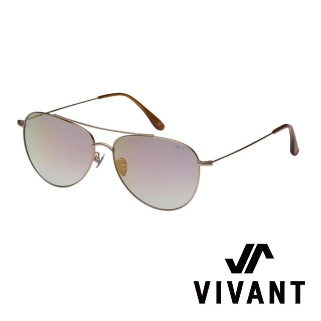【VIVANT】韓國 率性飛行員框 太陽眼鏡(消光金 - voller SGD)