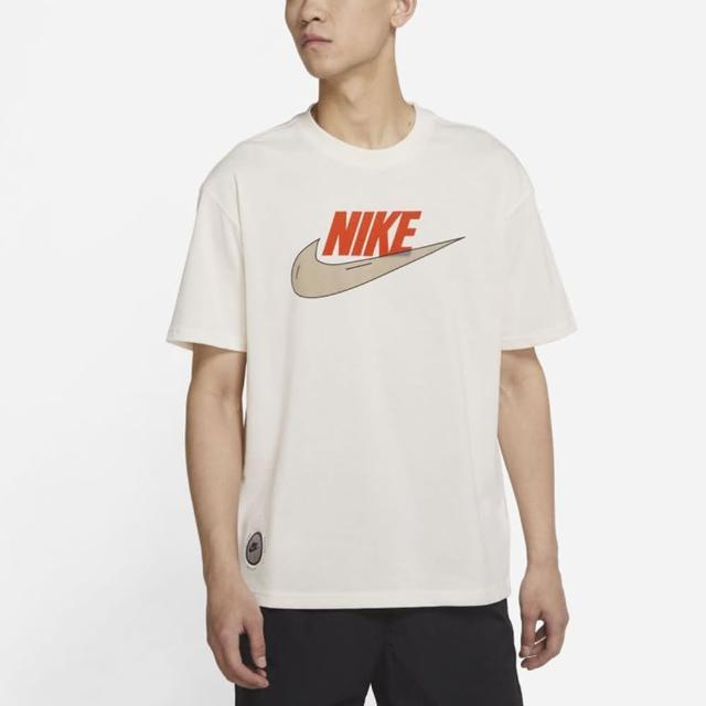 【NIKE 耐吉】上衣 男款 短袖上衣 運動 慢跑 健身 AS M NSW TEE M2Z PURPOSE 白 DJ1340-902