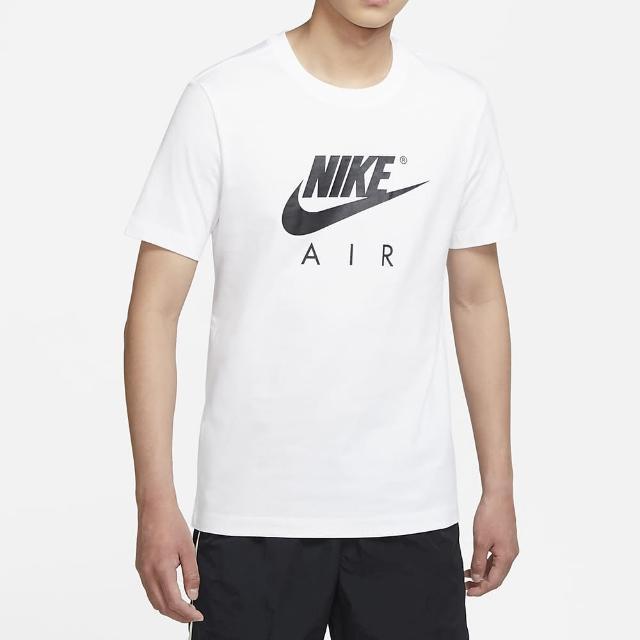 【NIKE 耐吉】上衣 男款 短袖上衣 運動 慢跑 健身 AS M NSW TEE AIR GX HBR 白 DD3352-100