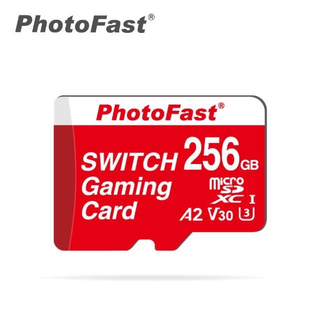 【Photofast】256GB microSDXC A2 V30 Switch 專用遊戲記憶卡