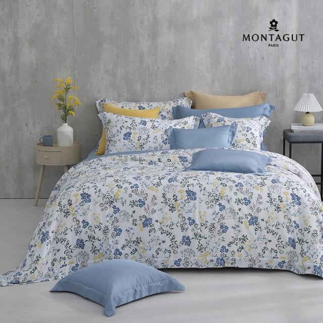【MONTAGUT 夢特嬌】100%萊賽爾纖維天絲兩用被床包組-多款任選(雙人/加大均一價)
