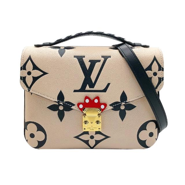 【Louis Vuitton 路易威登】Crafty Pochette METIS 全皮手提斜背郵差包(M45384-米白)