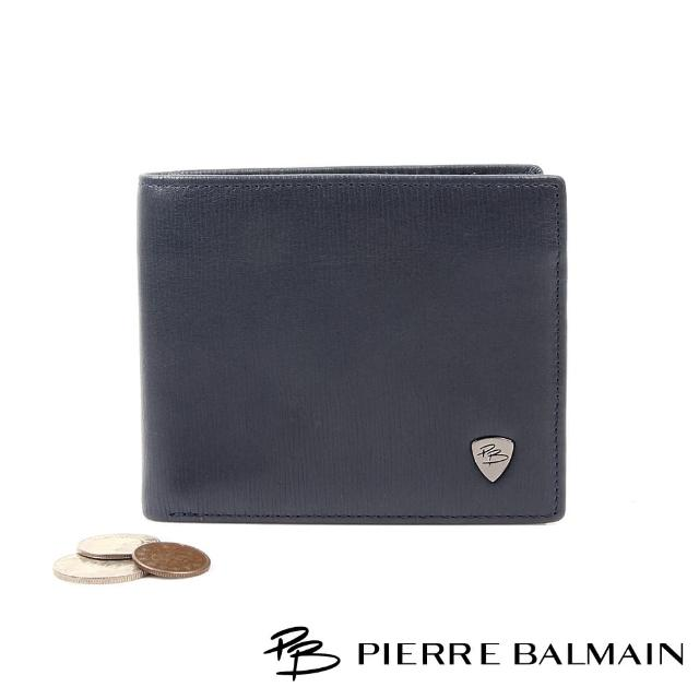 【PB 皮爾帕門】時尚真皮皮夾(8卡片夾2鈔票夾1拉鍊零錢袋)