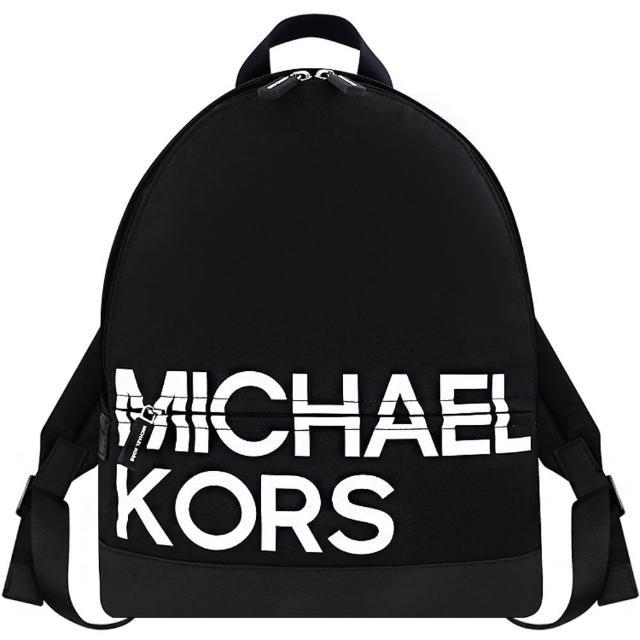 【Michael Kors】Sport 輕量尼龍後背包(黑色)