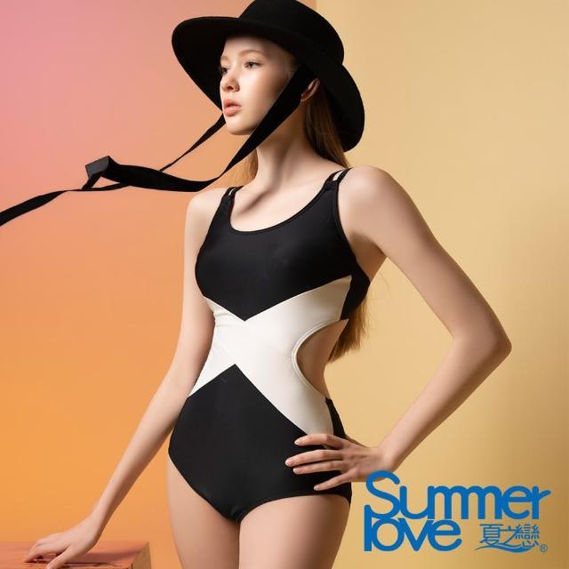 【Summer Love 夏之戀】泳裝 大女連身三角泳衣(E21708)