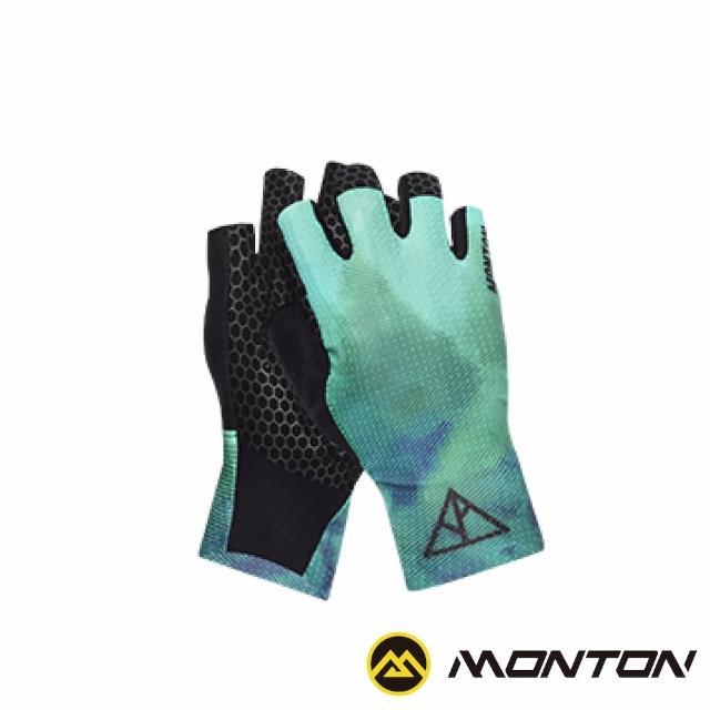 【MONTON】森林短指手套(自行車手套/單車手套/半指手套)