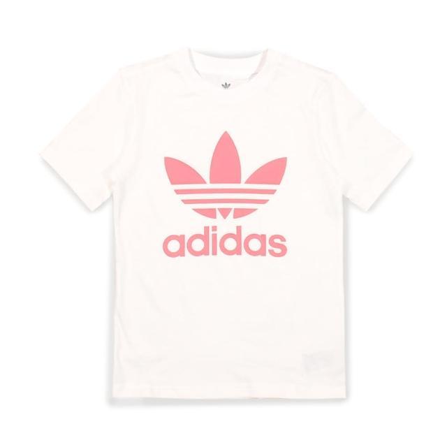 【adidas 愛迪達】棉質運動套裝 SHORT TEE SET 童裝-GP0195