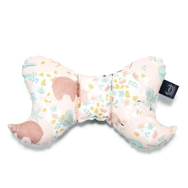 【La Millou】天使枕(澳洲森友會粉底-煙燻香草綠-推車汽座枕寶寶護頸枕)